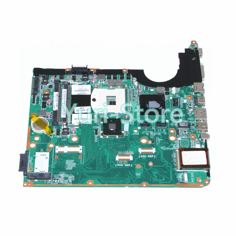 NOKOTION laptop motherboard 574902-001 for hp pavilion DV6 DV6t DV6-2000 DA0UP6MB6E0 PM55 GT230M DDR3 free shipping 571186 001 for hp pavilion dv6 dv6 1000 dv6 2000 series motherboard all functions 100