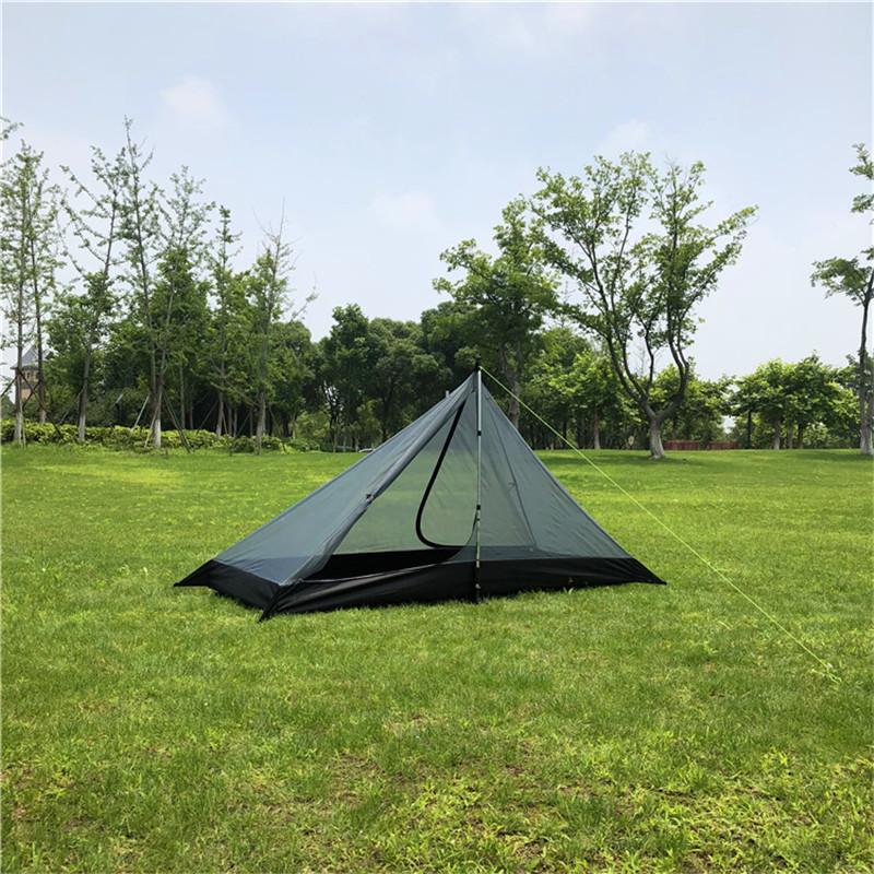 Ultralight Single Person Camping Mesh Tent Dual Layer Waterproof Outdoor Tent One Room One Hall 4 Season Tent for Beach Travel (6).jpg