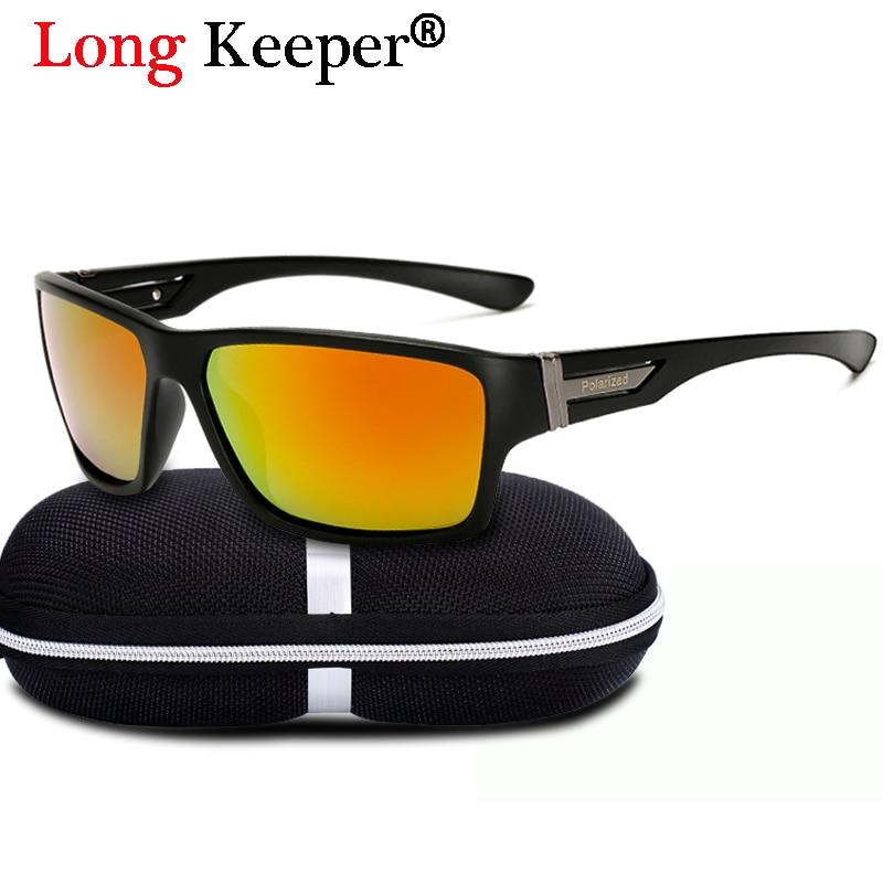 Long Keeper Women Brand Anti-UV Polarized Sun Glasses For Men Goggles Eyewears Driving Safety Eyewears UV400 With Glasses Box