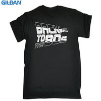 Cool Tees Gildan Short Sleeve Printing O-Neck Back To The 80S Shirt For Men