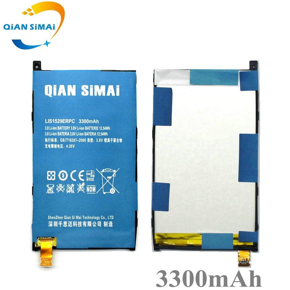 QiAN SiMAi LIS1529ERPC 3300 mAh Batterie de Remplacement Pour Sony Z1 mini Z1mini D5503 Z1 Compact M51w Mobile Téléphone