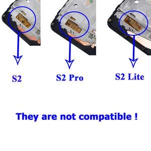 Image 2 - עבור Umidigi S2 Pro LCD תצוגת מסך מגע עם מסגרת עצרת החלפה עם כלים + סרט עבור UMI UMIDIGI s2 פרו