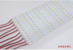 Image 1 - 100 adet led Sert Işık Led bar şerit Işık DC 12V 24V 0.5M 5630 36 LEDs Beyaz Sıcak beyaz mavi kırmızı ve yeşil 24V DC
