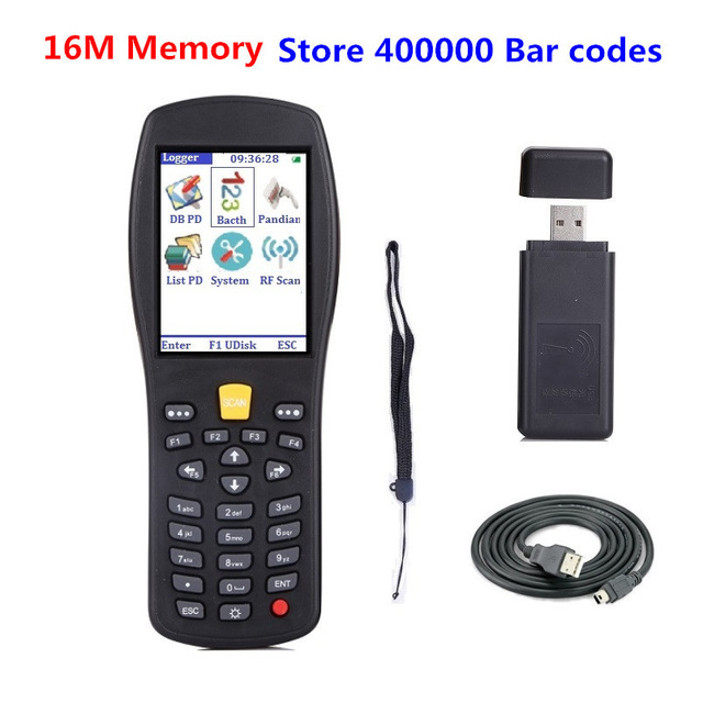 buy portable wireless barcode scanner handheld termindal pda barcode reader. Black Bedroom Furniture Sets. Home Design Ideas