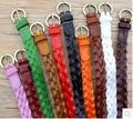 Free shipping multicolors 2.2x105cm women dress thin belt braided belt for women ladies skirt belt casual wear decoration belt