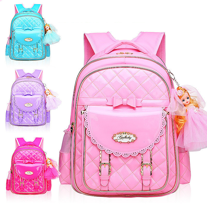 2018 Fashion Children School Bags For Girls Kids orthopedic Schoolbag Cartoon Kids School Backpacks Mochila Infantil