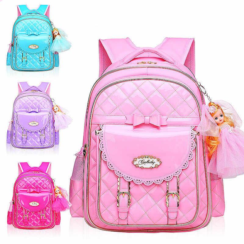 dcec4eb21b77 2019 модные детские школьные рюкзаки для девочек детские ортопедические  школьный розовый мультфильм детские школьные рюкзаки Mochila