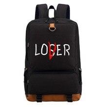 WISHOT Pennywise clown kochanka przegrany plecak na ramię podróży torba szkolna Bookbag dla nastolatków mężczyzn, kobiet, na co dzień, torby na laptop