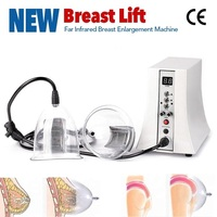 Electric Vacuum Hip Lifting Machine Vibrating Massage Bra Infrared Breast Enlargement Health Care Beauty Cupping Suction Device