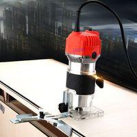 Trimmer Woodworking Engraving Machine Slot Machine Tapping Machine Dianmu Milling Power Tools Carpenter Renovation
