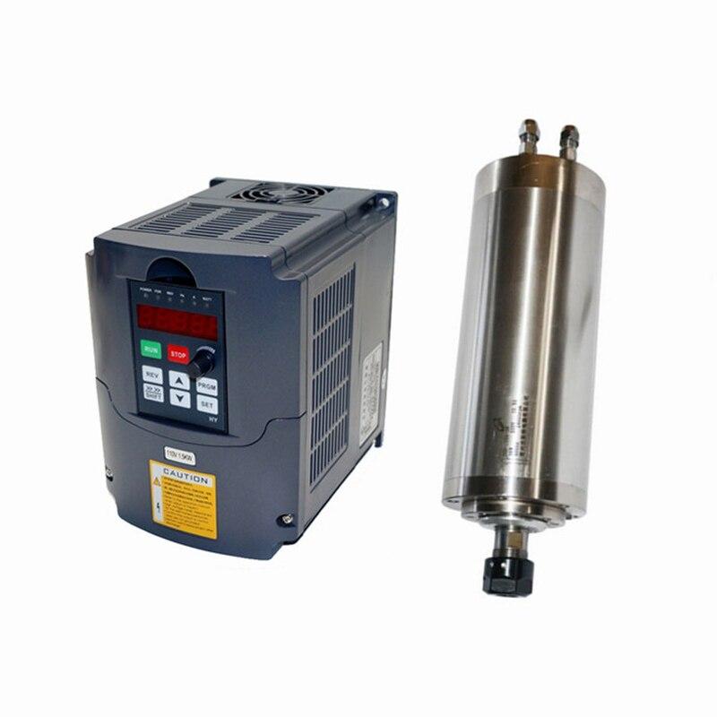 CNC routeur partie 800 w 1500 w broche 1500 w 2200 w fréquence convertisseur VFD onduleur moteur électrique bricolage bois fraiseuse machines-outils