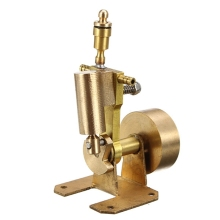 Live Steam Mini Engine Single Cylinder Engine Model Stirling Engine Model Science Educational Toy Gift For Children Kid full metal assembled single cylinder gasoline engine model building kits for researching industry learning studying toy gift