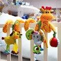 Nueva Llegada Del Bebé Juguetes Lindos Jirafa Musical Cuna Multifuncional Cama Colgante de Bell Sonajeros Juguetes Educativos para Niños