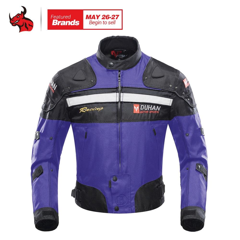 DUHAN Autumn Winter Cold-proof Motorcycle Jacket Men