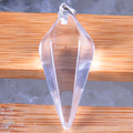 Free Shipping Fashion Jewelry 35x15MM Natural Clear Crystal Pendant 1Pcs K1632