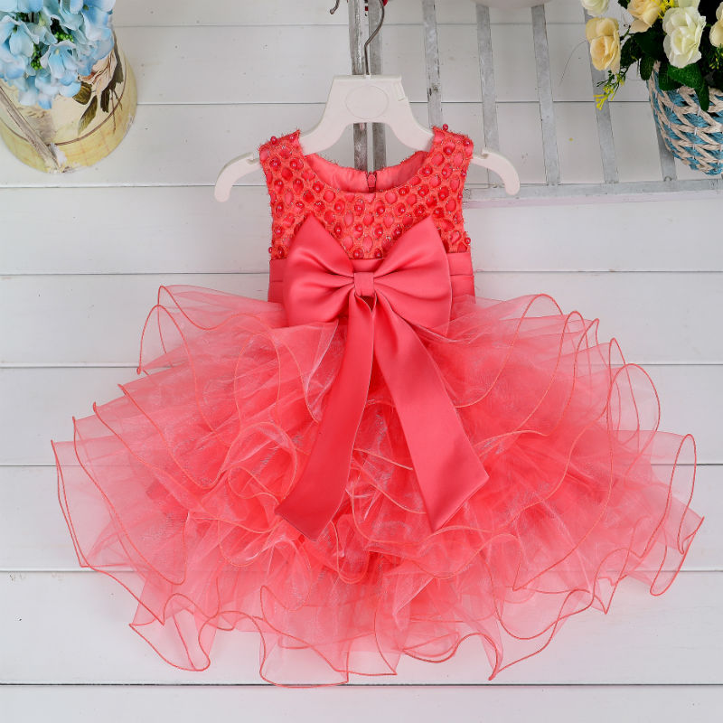 2018 Romantic Tulle   Flower     Girl     Dress   Sleeveless for Weddings Appliques   Girl   Party Communion   Dress   Pageant Gown