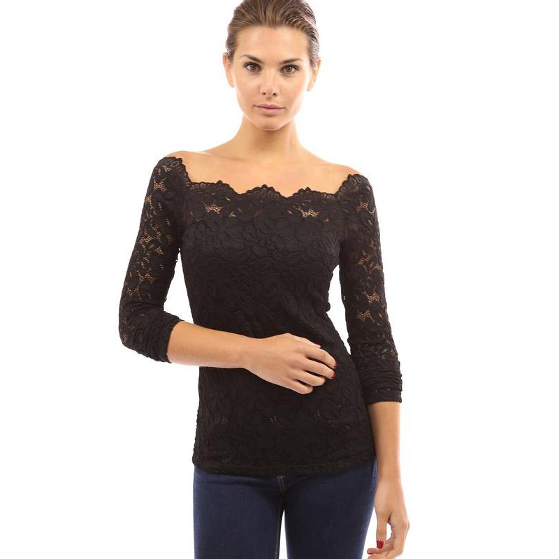 Blouse Lace Tops