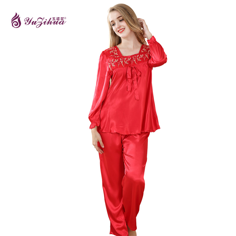 yuzihua pijama pink pijamas mujer pijama feminino pyjamas women pajamas for women pijama set. Black Bedroom Furniture Sets. Home Design Ideas