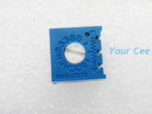 10 pcs 3386 103 10k Potentiometer Horizontal Adjustable Resistor DIY Kit Parts Variable Resistance 3386P Trimmer 10K ohm