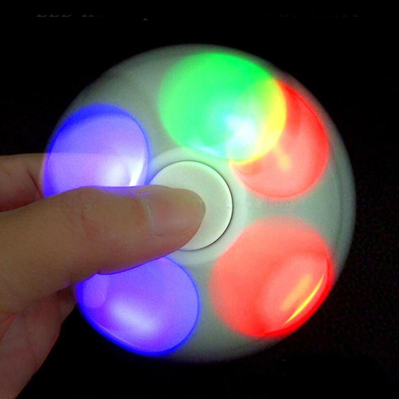 wholesale lots 10pcs led fidget hand spinner (1)