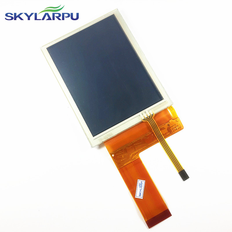 skylarpu 3.8-inch complete LCD LQ038Q7DB03R LCD Screen display panel for Trimble TSC2 LCD display Screen panel free shipping skylarpu new 5 1 inch lcd display screen panel for lmg7420plfc x lmg7420plfc embroidery machine lcd screen display panel