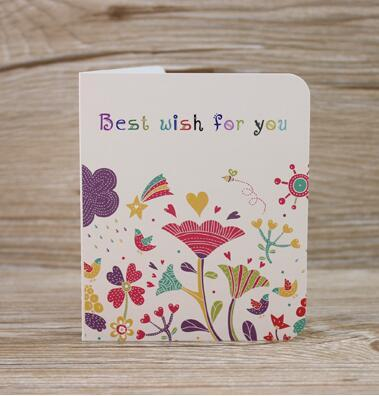 10pcsset 1089cm small floral printed greeting cards gift cards 10pcsset 1089cm small floral printed greeting cards gift cards florist paper m4hsunfo