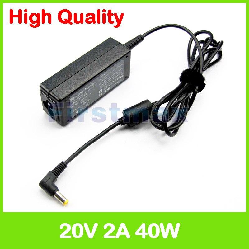 20 V 2A ordinateur portable adaptateur secteur pour MSI AP16 Flex AIO pc CR61 3 M CR62 CR72 6 ML 7 ML SliderBook S20 MS-1161 Tablet PC chargeur