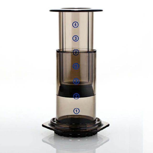 Newcomdigi Home Use portable coffee pot & Similar AeroPress Espresso coffee filters + 350pcs coffee machine filter paper