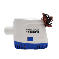 Automatic bilge pump DC12V/24V Water pump 600/750/1100GPH Auto Submersible Boat water pump electric pump for boats accessories