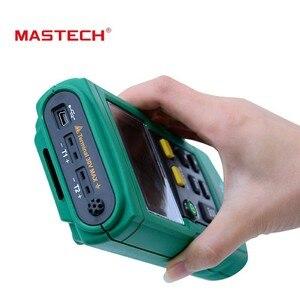 Image 3 - MasTech MS6514 ميزان الحرارة الرقمي المزدوج قناة مسجل درجة الحرارة تستر USB واجهة 1000 مجموعات البيانات KJTERSN الحرارية