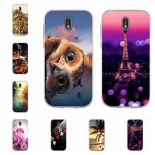 все цены на For Nokia 1 Phone Case Ultra-thin Soft TPU Silicone For Nokia 1 Protective Cover Cute Cartoon Patterned For Nokia1 Shell Capa