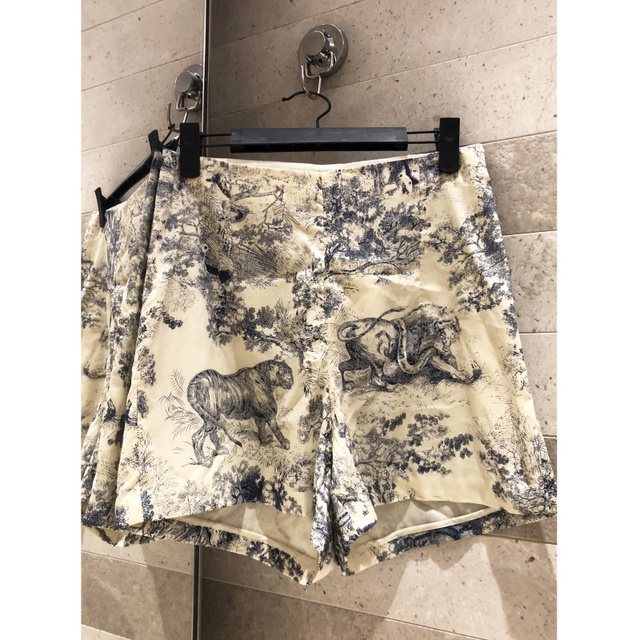 2019 summer ladies shorts high-end quality animal print was thin high waist casual cotton shorts