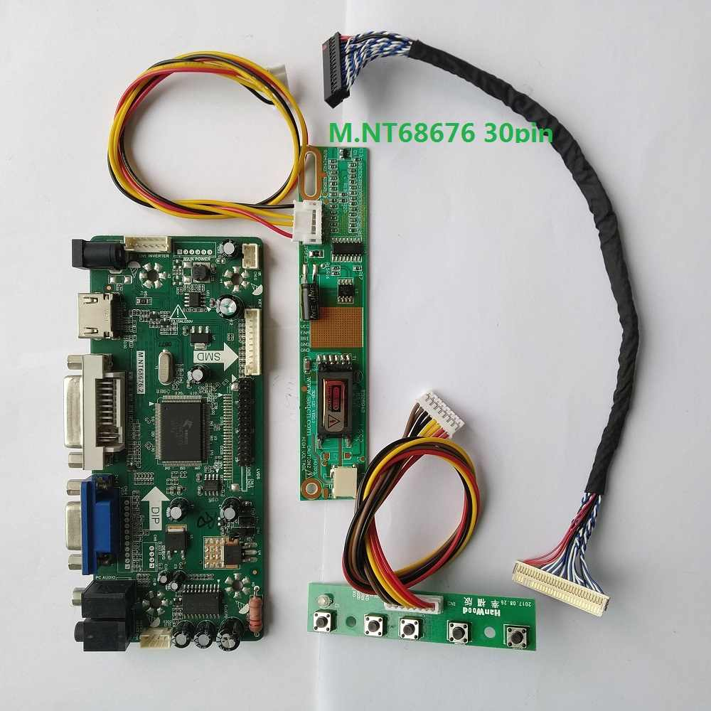 HDMI+AV+VGA+USB Controller Driver Board Lvds Kit for 1024X768 B141XN04 V.7 V7