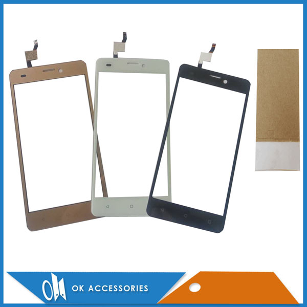 For Prestigio Wize NX3 PSP3517Duo PSP 3517 Duo Touch Screen Digitizer Glass Panel Black White Gold Color With Tools Tape 1PC/Lot