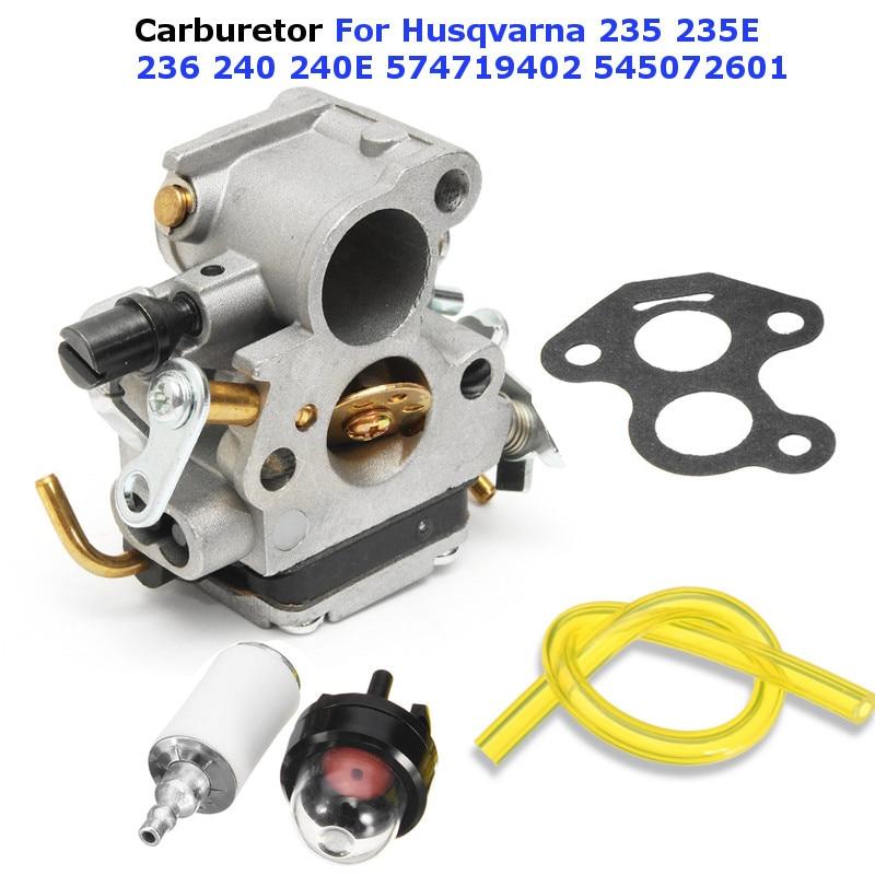 Carburetor Carb For Husqvarna 235 235E 236 240 240E Chainsaw 574719402 545072601 high performance genuine carburetor for husqvarna 125b 125bx 125bvx carb blower 545 08 18 11