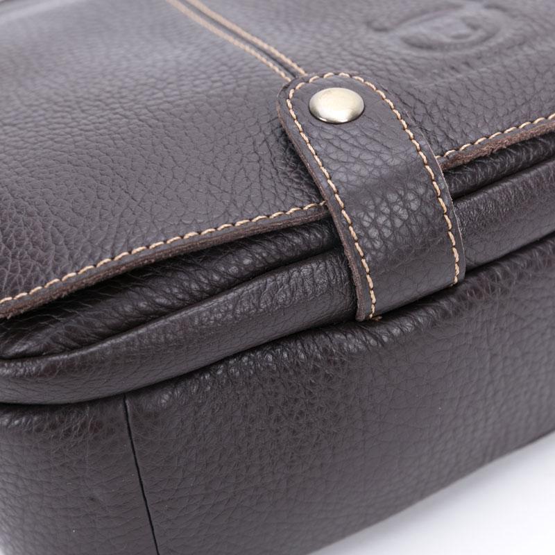 BULLCAPTAIN brändi meeste kott ehtne nahast moodne meeste väike - Käekotid - Foto 5