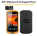 "3GB RAM 32GB ROM 4G LTE ip67 Rugged Waterproof phone cell phone MANN ZUG 5S+ Qualcomm Quad Core 5"" Android 13.0MP Dual Sim GPS"