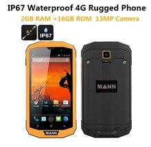 "3 ГБ RAM 32 ГБ ROM 4 Г LTE ip67 Прочный Водонепроницаемый телефон сотовый телефон МАНН ЦУГ 5 S + Qualcomm Quad Core 5 ""Android 13.0MP Dual Sim GPS"
