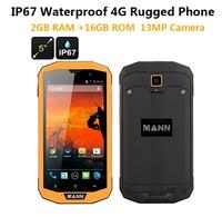 3GB RAM 32GB ROM 4G LTE ip67 Rugged Waterproof phone cell phone MANN ZUG 5S+ Qualcomm Quad Core 5 Android 13.0MP Dual Sim GPS