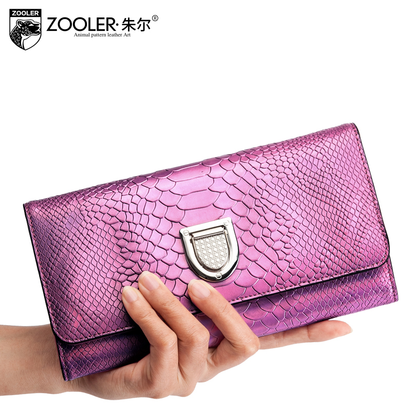 ФОТО 2017 New Genuine Cowhide Wallet Women Luxury Brand ZOOLER Clutch Female Or Business Cardholders Porte Monnaie Femme Marque Hot