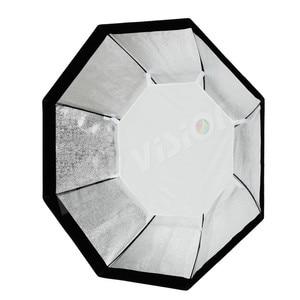 """Image 5 - Godox Pro 120 cm 47 """"Studio octogone nid dabeille grille Softbox réflecteur Softbox avec monture Bowens pour Flash Studio stroboscopique"""