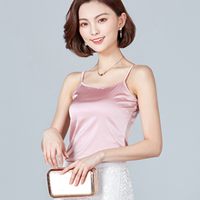 Fashion Silk Tops Women Tank Strapless Satin Sexy Sleeveless Top Plus Size XXXL Ladies Camisole Bottom Shirt