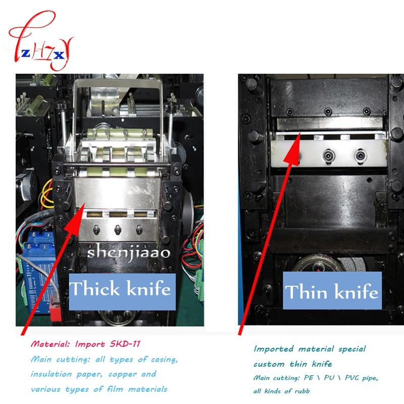 NEW Car Tubo Termoretraibile Tubo Cavo Macchina di Taglio 110 v e 220 v Calore Tubo Termoretraibile Automatica Macchina di Taglio - 4