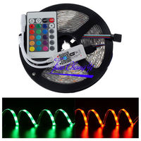 5050 300LED RGB Flexible Light LED Strip 12V IP65 with 24key WiFi Controller