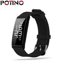 Potino X9 Смарт Браслет сердечного ритма Приборы для измерения артериального давления Мониторы браслет IP67 0.96 «Экран Фитнес трекер Шагомер SmartBand