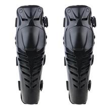 цена на 2 Pcs Motorcycle Motorbike Racing Motocross Black Protective Guard Knee Pads Protector Gear