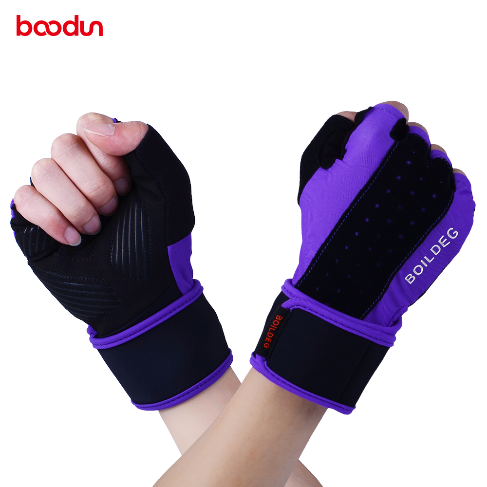 Analytical Boodun Weight Lifting Gloves&mittens Non-slip Gym Men Women Protector Half Finger Gloves Breathable Comfortable Gloves Ample Supply And Prompt Delivery Sports & Entertainment
