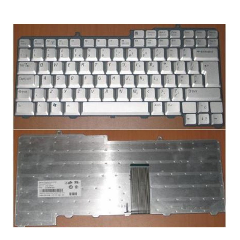 YALUZU QWERTY nouveau pour DELL Inspiron 630 m 640 M 6400 9300 9400 NSK-D5D0U 9J. N6782.D04 0WG328 WG328 UK clavier ordinateur portable argent