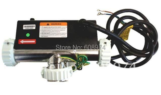 LX FLOW TYPE HEATER MODEL H20-R3 -  2kw/220V Bath heater- Whirlpool spa heater T Shape lx spa heater