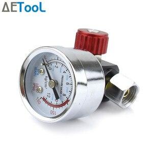 Image 5 - AETool Spray Gun Adjust Air Pressure Regulator Gauge Car Auto Repair Painting Tool Spray Gun Accessories Pneumatic Gun Regulator